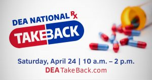 prime care supports national take back day